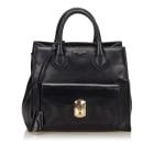 Leather Handbag BALENCIAGA Black