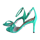 Heeled Sandals GUCCI Green