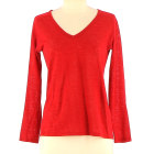 Tops, T-Shirt MAJE Rot, bordeauxrot