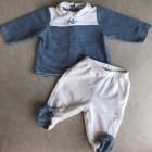 Pyjama CYRILLUS Bleu, bleu marine, bleu turquoise