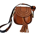 Leather Shoulder Bag CHLOÉ Brown