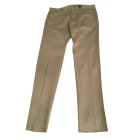 Pantalon slim DSQUARED2 Beige, camel