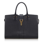 Lederhandtasche YVES SAINT LAURENT Black