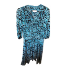 Midi Dress ZADIG & VOLTAIRE Blue, navy, turquoise