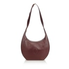 Leather Shoulder Bag CARTIER Brown