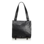Leather Shoulder Bag BALENCIAGA Black