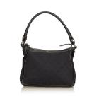 Leather Shoulder Bag GUCCI Black