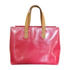 Leather Handbag LOUIS VUITTON Pink, fuchsia, light pink