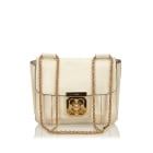 Borsa a tracolla in pelle SEE BY CHLOE White