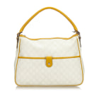 Leather Handbag GUCCI White