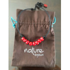 Collier NATURE BIJOUX Rouge, bordeaux