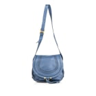 Borsa a tracolla in pelle SEE BY CHLOE Blue