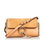 Borsa a tracolla in pelle SEE BY CHLOE Brown