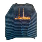 Tee-shirt AGNÈS B. Bleu, bleu marine, bleu turquoise