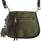Leather Shoulder Bag MARC JACOBS Khaki