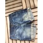 Short en jean ZARA Bleu, bleu marine, bleu turquoise