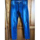 Jeans slim MIM Bleu, bleu marine, bleu turquoise