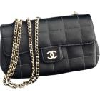 Non-Leather Shoulder Bag CHANEL Black