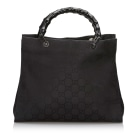 Sac à main en cuir GUCCI Black