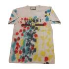 Top, T-shirt GUCCI White, off-white, ecru