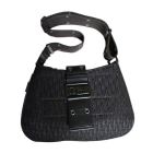 Non-Leather Handbag DIOR Black