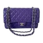 Leather Handbag CHANEL Timeless Purple, mauve, lavender
