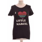 Top, tee-shirt LITTLE MARCEL Noir