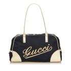 Leather Handbag GUCCI Blue