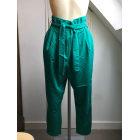 Pantalon carotte ASOS Vert