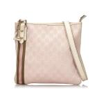 Leather Shoulder Bag GUCCI Pink