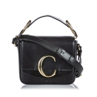 Borsa a tracolla in pelle SEE BY CHLOE Black
