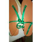 Sandales plates  H&M Vert