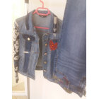 Jeans droit DESIGUAL BLEU BLEU MARINE
