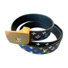 Skinny Belt LOUIS VUITTON Multicolor