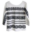 Top, T-shirt LIU JO White, off-white, ecru