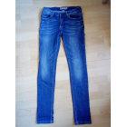 Jeans slim CREEKS Bleu, bleu marine, bleu turquoise
