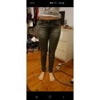 Jeans slim MIM Gris, anthracite