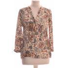 Top, T-shirt ZARA Beige, camel