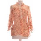 Top, T-shirt ZARA Pink, fuchsia, light pink