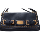 Leather Clutch MICHAEL KORS Blue, navy, turquoise