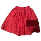 Midi Skirt MAJE Red, burgundy