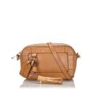 Leather Shoulder Bag SEE BY CHLOE Brown