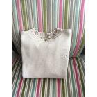 Sweater BURBERRY White, off-white, ecru