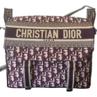 Non-Leather Shoulder Bag DIOR Red, burgundy