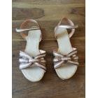 Sandales plates  COSMOPARIS Marron