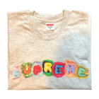 Tee-shirt SUPREME Gris, anthracite