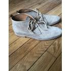 Chaussures à lacets KOST Beige, camel