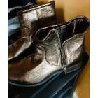 Bottines & low boots plates KOOKAI Doré, bronze, cuivre
