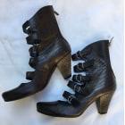 Bottines & low boots à talons BOCAGE Marron foncé