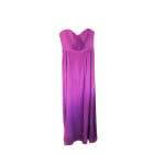 Robe bustier BCBG MAX AZRIA Violet, mauve, lavande